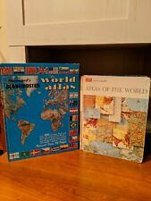 Hammond's Globemaster World Atlas and Life Atlas Of The World