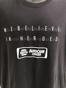 Men's NAPA Black T-Shirt We Believe In Heroes Intrepid Series Fallen Heroes XL