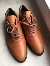 HESCHUNG Sneaker uk:6, 5 40 Chaussures Cuir Marron Made in France Luxe Top Couture