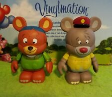 """Disney Vinylmation 3"""" Park Set 2 Disney Afternoon Baloo and Kit from Talespin"""