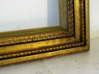 ANTIQUE   GREAT QUALITY GILT FRAME FOR PAINTING  22  X 17 INCH  ( g-3)