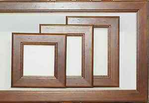 CPF - Walnut Picture Frame from 5x5 Square thru 20x20 & 20x30 inch