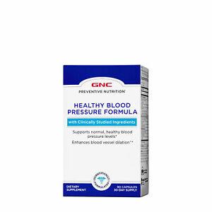 GNC PREVENTIVE NUTRITION® HEALTHY BLOOD PRESSURE FORMULA 90 Capsules
