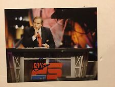Chris Berman Signed 8x10 Photo ESPN PROOF Autographed a