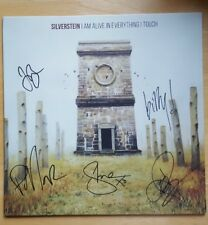 SILVERSTEIN SIGNED I AM ALIVE IN EVERYTHING  I TOUCH AUTOGRAPH VINYL LP RECORD