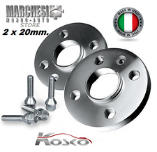 Pair Spacers Wheel 20 Mm. BMW X3 (E83) - X5 (E53) With Bolts Steel