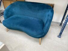 NEW MADE.COM GERTIE SEAFOAM BLUE SOFA 99P START