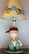 Peanuts Snoopy Charlie Brown Baseball Night Lamp Westland Giftware MIB