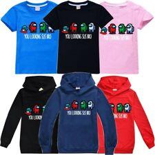 Среди нас игровой детская футболка Толстовка самозванца смешная, крутая толстовка с капюшоном подарок