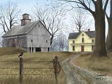 Billy Jacobs Homeward Farmhouse Farm Art Print 16 x 12