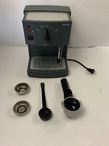 KRUPS Household Espresso Maker Novo 2100 Plus 962 w/ Carafe + Additional Pieces