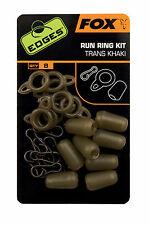 Fox Edges Run Ring Kit CAC583 Run Rig Montage Karpfenmontage Karpfenangeln