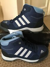 New Adidas Hyperhiker K Trainer/Boots In Blue Size 5