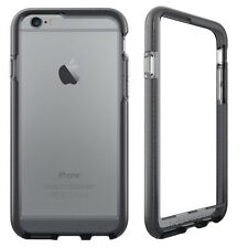 Smokey Black Evo Band RIM Cover FlexShock for iPhone 6, 6S, 7, 8 by Tech21