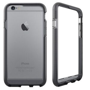Smokey Black Evo Band RIM Cover FlexShock for iPhone 6, 6S, 7, 8 by Tech21