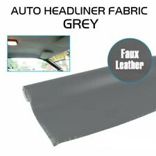 Artificial Leather Surface Headliner Material Foam Attached, Replace/Repair Grey