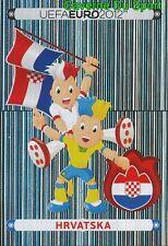 368 Official Mascot - Hrvatska CROATIA STICKER EURO 2012 PANINI