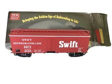 HO Scale Roundhouse Swift Wood 36' Side Reefer Red #2778 85502 Freight Car