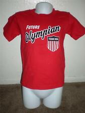 """New-Minor Flaw- Olympics Team USA """"Future Olympian"""" Toddlers 2T Red T-Shirt"""