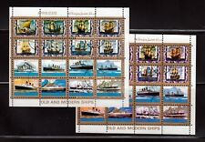 Colour Variety - Old & Modern Ships - Small Minisheets