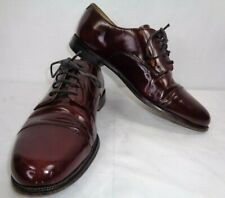 Cole Haan Lace up Oxford Patent Leather Brown Men's Size 8.5 D