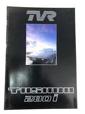 TVR tasmin 280i Sales Brochure, New Condition