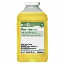 DIVERSEY 94996466 Floor Cleaner,2.5L,Citrus,Yellow,PK2