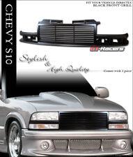 1998-2004 CHEVY S10 BLAZER/TRUCK BLK HORIZONTAL BILLET FRONT BUMPER GRILL GRILLE