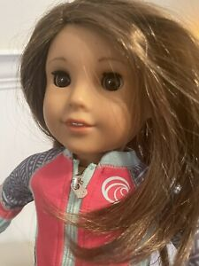 American Girl Joss Kendrick Doll Used 18in GOTY 2020 - Board - Outfits Included