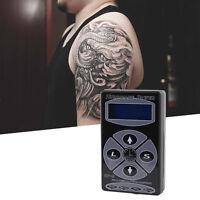 Professional Black HP-2 Hurricane Tattoo Power Supply Digital Dual LCD tH