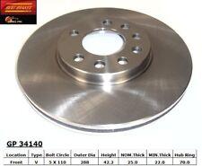 Disc Brake Rotor fits 2000-2005 Saturn L300 L200,LW200 LW300  BEST BRAKES USA