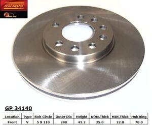 Disc Brake Rotor-SE Front Best Brake GP34140