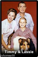 Timmy & Lassie Cast Refrigerator Magnet