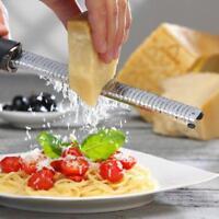 - küche edelstahl lemon zester microplane reibe gemüse, obst, polizist