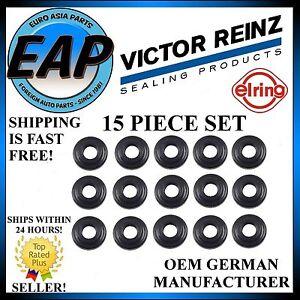 For 323I 323IS 328I 328IS 528I M3 Z3 OEM Reinz 15 Piece Valve Cover Grommet Set
