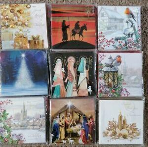 Barnardo's 10-pack Square Christmas cards RRP £3.99 Free UK Postage
