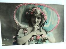 VINTAGE CPA REUTLINGER ACTRICE MAUD D'ORBY     c. 1905