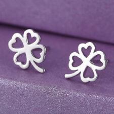 Fashion earrings four leaf clover uk seller