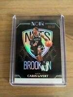 2020 PANINI NOIR CARIS LEVERT ICON EDITION SP /25 ~ BROOKLYN NETS