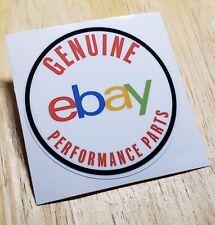 Genuine Ebay Performance Parts Decal 2.5Inch Round