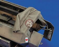 Royal Model 1/35 Canvas Cover for Sd.Kfz.251 Ausf.C German Half-track No.2 377