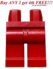 ☀️NEW Lego Legs Pants MINIFIGURE MINIFIG BOY GIRL Star Wars Dark Red Plain