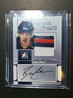 2008-09 ITG Heroes and Prospects Patch Auto Silver #JABC Blake Comeau 6/9