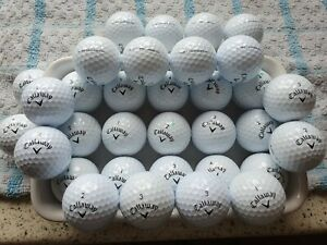 33 Callaway Hex tour soft golf balls