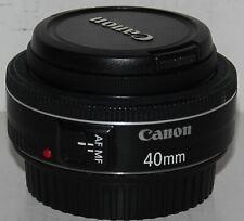 Canon EF 40 mm f/2.8 STM 'Pancake' Premier objectif + hood [Très Bon Etat]