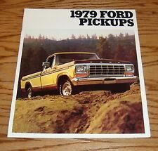 Original 1979 Ford Truck Pickup Sales Brochure 79 Ranger F-100 F-150 F-250