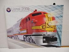 Lionel Toy Train Railway 2009 Ready-To-Run Catalog Locomotive Freight Passenger