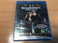 SEALED - Nick and Norah's Infinite Playlist Blu-ray (2009) Michael Cera