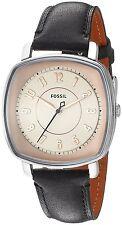 Fossil Women's ES3998 'Idealist' Black Leather Watch