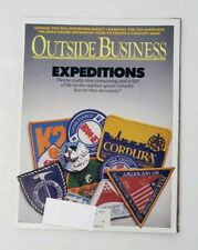Vintage Outside Business Magazine - Eddie Bauer Approach / Expeditions - 1986